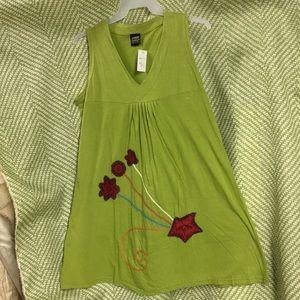 NWT Women's distressed dress BOHO HIPPY COACHELLA